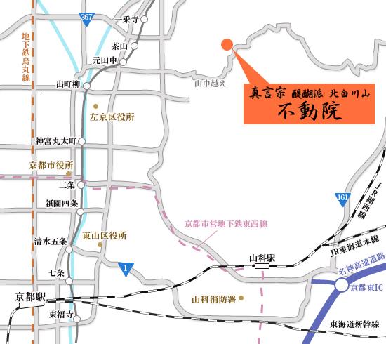 京都府京都市左京区北白川地蔵谷町1-244の地図